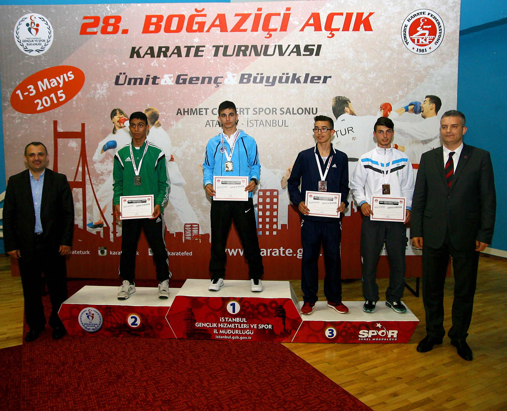 28th BOSPHORUS OPEN KARATE TOURNAMENT