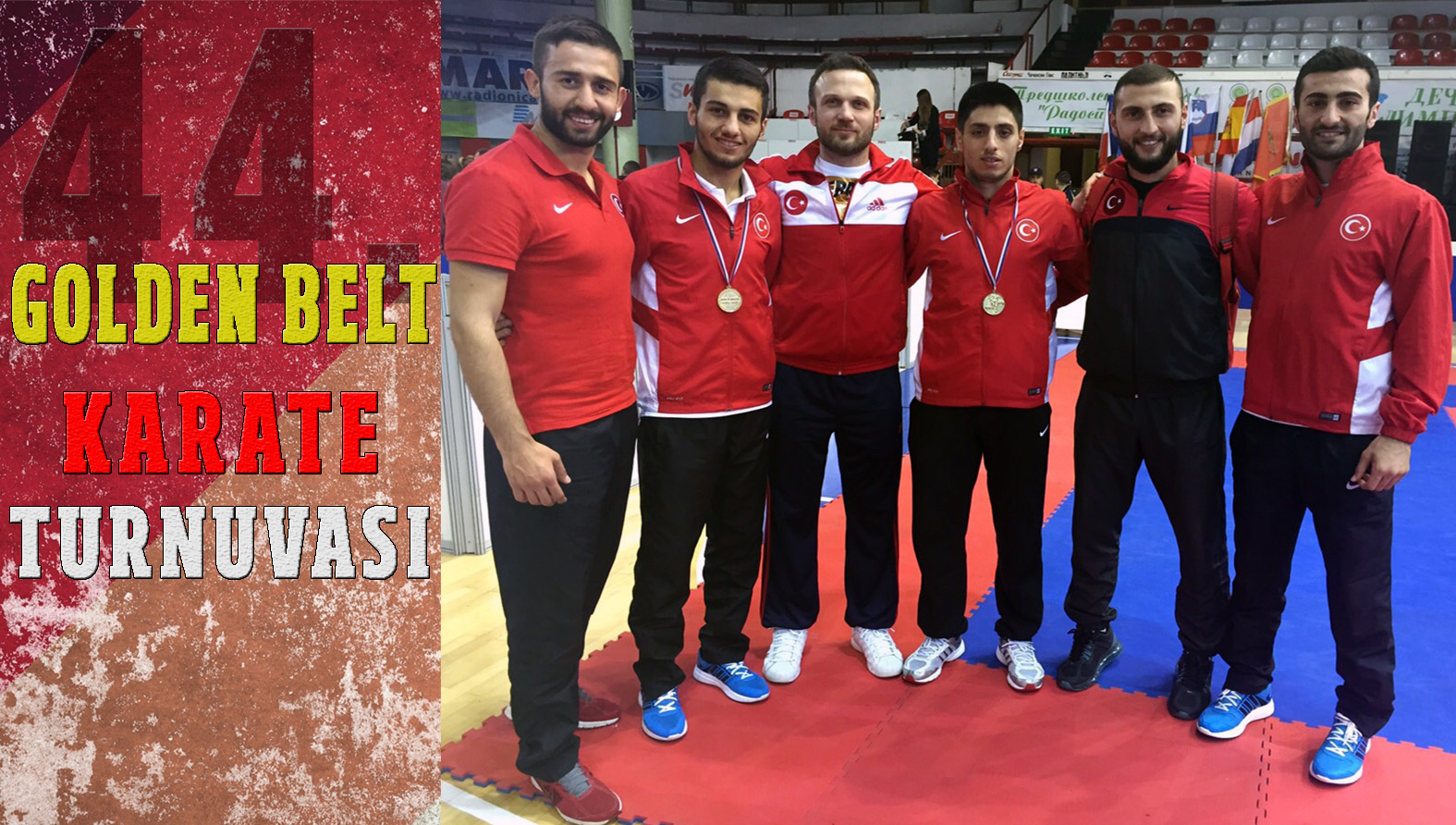 'GOLDEN BELT'TE İKİ ALTIN MADALYA KAZANDIK