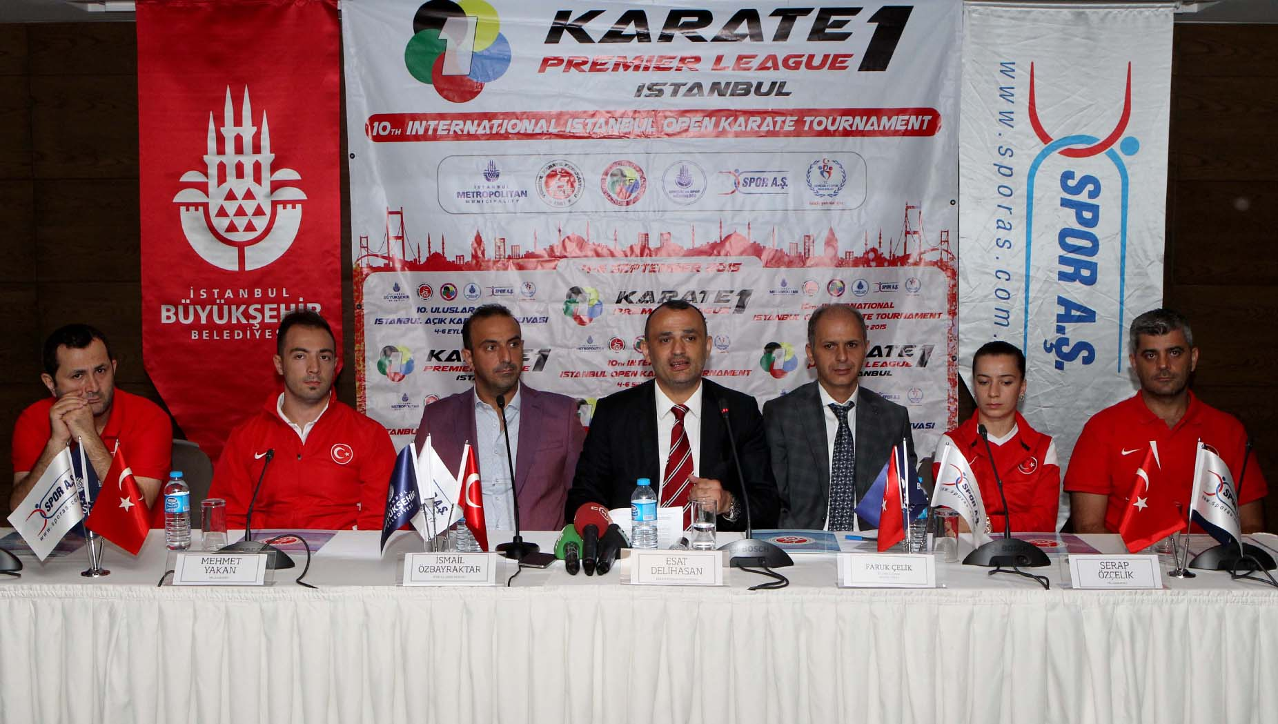KARATE 1 PREMIER LEAGUE BASIN TOPLANTISI YAPILDI