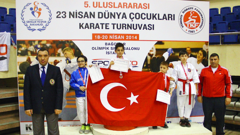6.Uluslararası 23 Nisan Dünya Çocukları Karate Turnuvası 27