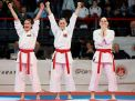 TURKISH WOMEN KARATEKAS WIN GOLD MEDAL