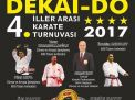 DEKAİ-DO İLLERARASI KARATE TURNUVASI